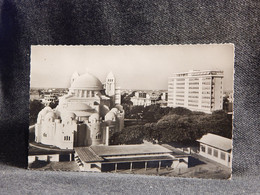 Senegal Dakar Le Cathedrale Et Le Building__(7570) - Senegal