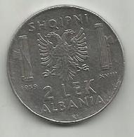 Albania 2 Lek 1939. Non-magnetic - Albanien