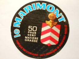 A-57066 - étiquette De Fromage - Camembert Le Marimont - Benestroff Moselle 57C - Formaggio