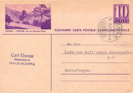 Sierre Siders Lac De Géronde Plage - Ibach Schwyz - Carl Alsener - Commande à Von Roll - Enteros Postales