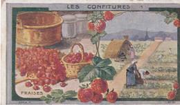 CHROMO AU PLANTEUR DE CAIFFA -   LES CONFITURES . FRAISE - Unclassified