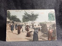 Vietnam Tonkin Marche De La Canne A Sucre -08__(6126) - Vietnam