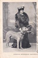 CONIUGI BIANCHINI CAPPELLI. FEMME CÉLÈBRE. CARTE POSTALE. CIRCA 1900's. NON CIRCULEE -LILHU - Femmes Célèbres