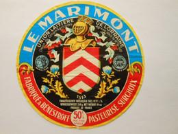 A-57067a - étiquette De Fromage - Camembert Le Marimont - Benestroff Moselle 57C - Formaggio