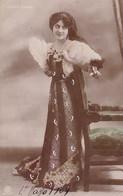 MARIA LABIA. FEMME SOPRANO ITALIENNE. CARTE POSTALE. CIRCULEE 1909 BUENOS AIRES -LILHU - Femmes Célèbres