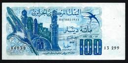 ALGERIE - 100 DINARS - 1981 -11 - 01 - TTB - Algeria
