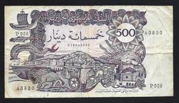 ALGERIE - 500 DINARS - TB - Voir Photos - Algeria