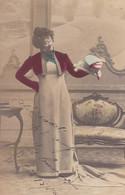 TERESA MARIANI. FEMME ACTRICE ITALIENNE. CARTE POSTALE. CIRCULEE 1906 -LILHU - Femmes Célèbres
