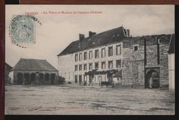 51 - TROISSY - La Place Et Ruines De L'Ancien Château - Altri Comuni
