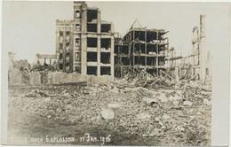 59) LILLE Carte-Photo : Après L'explosion Du 11 Janvier 1916 - Carte Allemande (1.WK - WW1) - Lille