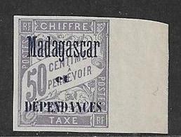 MADAGASCAR Taxe N°6 **   Neuf Sans Charnière Luxe MNH - Strafport