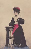 GIUSEPPINA DE GIGLI. FEMME ARTISTE. CARTE POSTALE. CIRCA 1900's, NON CIRCULEE -LILHU - Femmes Célèbres