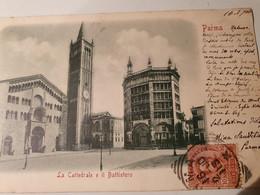 PARME PARMA LA CATTEDRALE E IL BATTISTERO CATHEDRALE PRECURSEUR - Parma