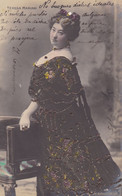 TERESA MARIANI. FEMME ACTRICE ITALIENNE. CARTE POSTALE. CIRCULEE 1905, BUENOS AIRES -LILHU - Femmes Célèbres