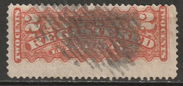Canada 1875 Sc F1  Registration Used - Recomendados