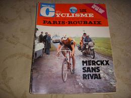 MIROIR Du CYCLISME 169 03.1973 PARIS ROUBAIX 1r MERCKX OVION RETRO PARIS ROUBAIX - Sport