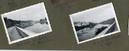 LYON 2 Photos Snapshot 69 Quai De Saone Perrache Port Rambaud RARE 50s 1950 - Plaatsen