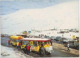 CPSM Autobus - Deux Alpes - Trans'alpes Et Rassemblement ESF - Autobus Renault TN6 - Buses & Coaches