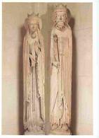 91 - Corbeil-Essonnes - Portail Occidental De L'église Notre-Dame De Corbeil - Le Roi Salomon Et La Reine De Saba - Art - Corbeil Essonnes