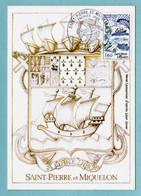 Carte Maximum 1982 - Saint Pierre Et Miquelon - YT 2193 - 975 Saint Pierre - 1980-89