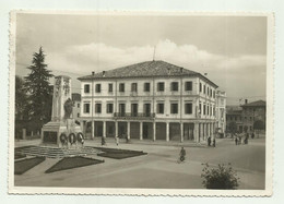 MONTEBELLUNA - IL MUNICIPIO  1944  VIAGGIATA  FG - Treviso