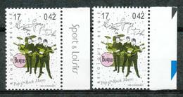 [154144]TB//**/Mnh-BELGIQUE 1999 - N° 2872, Bdf Avec Et Sans Inscriptions Marginales, Célébrités, Chanteurs, Beatles, Mu - Ongebruikt