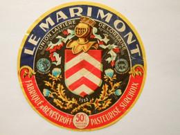 A-57067c - étiquette De Fromage - Camembert Le Marimont - Benestroff Moselle 57C - Formaggio