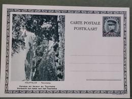Carte Postale, Houffalize Panorama . 50C + 25C Surchargé 35C - Postcards [1909-34]