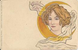 Theo Stroefer's Kunstverlag, Nurnberg, Serie XVII (ideal) Nr 8 - 1900-1949