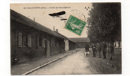18 - Camp D'AVORD - Cercle Des Sous-Officiers - Animée + Aéroplane  (C67) - Avord