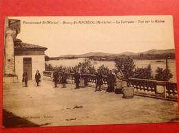 Bourg Saint Andéol Pensionnat Saint Michel, Terrasse - Bourg-Saint-Andéol