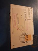 Bande Journal Aff 1958 LOUVIERE 1 7100 Pour PERIGUEUX  Retour Envoyeur En Rouge TB - Autres