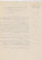 Tribunal Militaire D'Oran Au Colonel Commandant Le 1er Régiment Etranger à Sidi-Bel-Abbès. LieutenantTroyes. - Dokumente