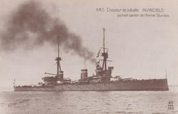 H.M.S. Croiseur De Bataille Invincible - Guerra
