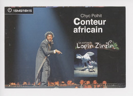 """Chyc Polhit  Les Aventures De """"Lapin Zinzin"""" - Conteur Africain (stade Océane Le Havre 2017) Spectacle - Reclame"""