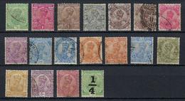 INDE ANGLAISE 1911-1926: Lot D' Obl. CAD - 1911-35 Roi Georges V