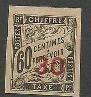 INDOCHINE Taxe  N° 4 NEUF (**) SANS CHARNIERE / MNH - Ungebraucht