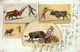Thematiques Mexicano Mexique Corrida Recuerdo Cachet Chicago 1903 - Mexico