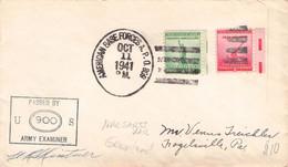 USA - MILITARY LETTER 1946 From GREENLAND /Q22 - Brieven En Documenten
