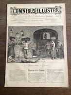 1884 OMNIBUS ILLUSTRE Vendange à Capri Grand Garde 1870 Environ De Paris Henri Dupray - Andere Tijdschriften