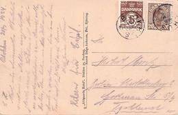DENMARK - PICTURE POSTCARD 1926 BLOCKHUS > BERLIN /G155 - Cartas