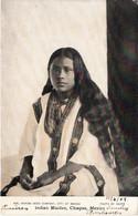 Thematiques Mexicano Mexique Mexico Indian Maiden Chiapas Timbre Cachet 12 06 1908 - Mexiko