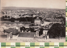 X16022 ANGOULEME 16-Charente PANORAMA Pris De Hotel De FRANCE Quartier Gare 1910s- LEVY 72 - Angouleme