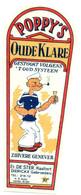 Oud Etiket / Ancienne étiquette Genever / Jenever / Genièvre Poppy's Oude Klare - Stokerij De Ster Haaltert - Otros