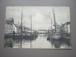LOUVAIN 1908 - VUE SUR LE CANAL - PENICHES - DR. TRENKLER C° 1904 - Leuven