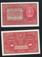 POLOGNE  - 20 MAREK POLSKICH 1919 - UNC - Polonia