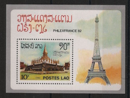Laos - 1982 - Bloc Feuillet BF N°Yv. 68 - Philexfrance - Neuf Luxe ** / MNH / Postfrisch - Laos