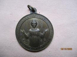 Italia: Médaille Souvenir Des Catacombe De St. Calliste Rome - Profesionales/De Sociedad