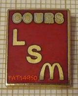 MAC DO McDonald's COURS LS LSM - McDonald's