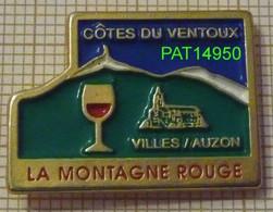 VINS COTES DU VENTOUX  VIN LA MONTAGNE ROUGE  à VILLES Sur AUZON Dpt 84 VAUCLUSE - Bebidas